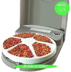 distributeur de croquettes petsafe eatwell